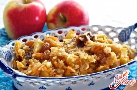 pilaf in the oven recipe