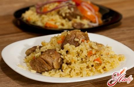 pilaf with pork