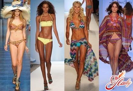 тренди пляжної моди 2012