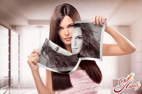 causes rapid appearance of fatty hair