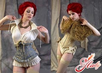 fashionable corsets