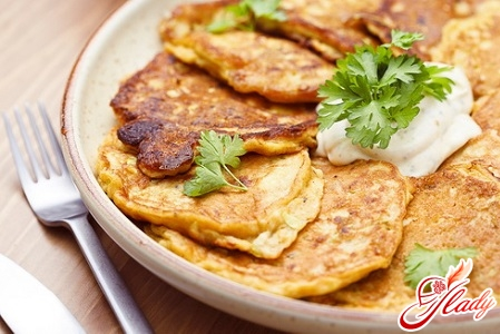 different recipes of lean fritters