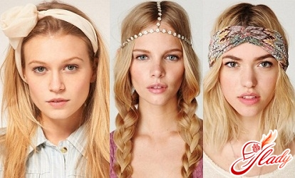 how to wear a hair bandage