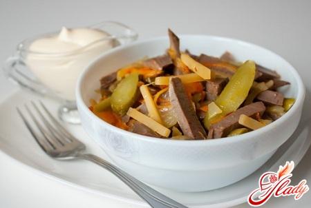Prague salad recipe