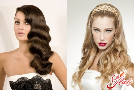 women's hairstyles with flowing hair