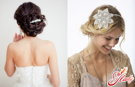Fashionable hairstyles with gathered hair