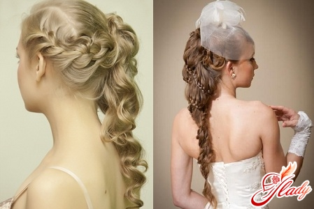 wedding hairstyles braids with flowers