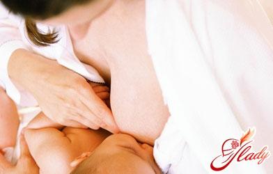 proper attachment of the child to the breast