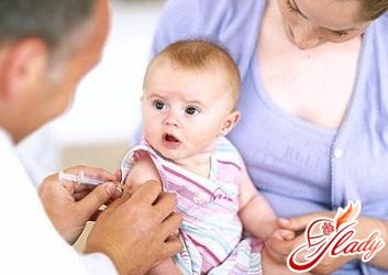 Inoculation against hepatitis in contraindications