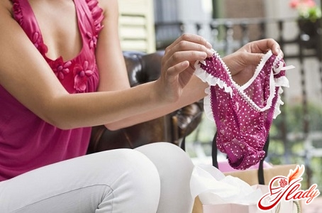 to avoid the appearance of cystitis, choose the right underwear
