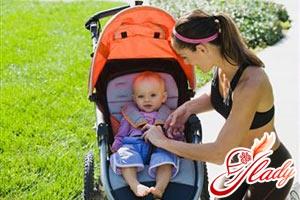 walk with the newborn