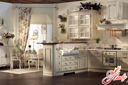 modern kitchens in the style of Provence