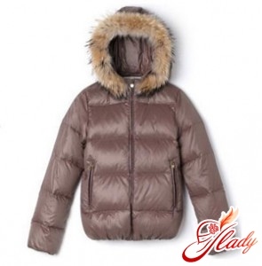 Choose a down jacket