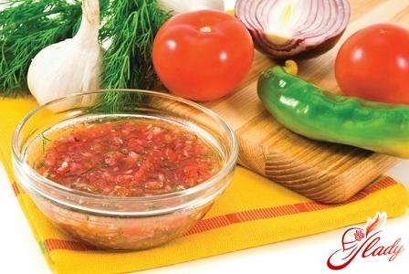 simple recipe for Adjika