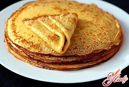 delicious lush pancakes