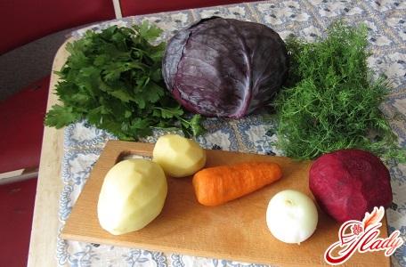 ingredients for cauliflower in Korean