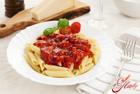 different pasta recipes
