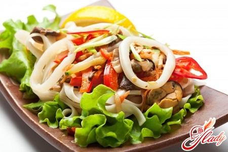 recipe for seafood salad