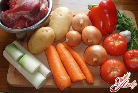 ingredients for shurpa