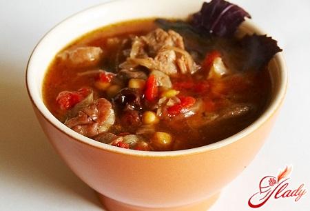 delicious soup of piti