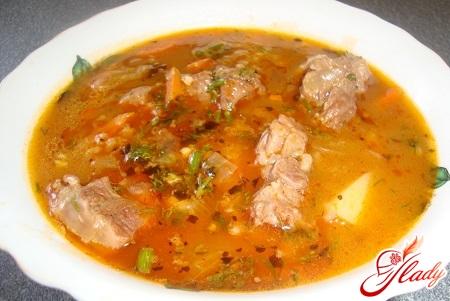 lamb soup with lamb