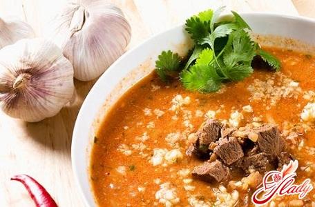 soup kharcho lamb recipe