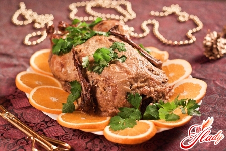 recipes duck with oranges