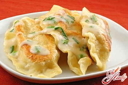 recipe of dumplings with potatoes