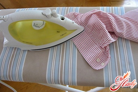 How to properly and qualitatively iron men's shirts