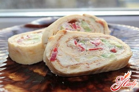 roll of omelette recipe