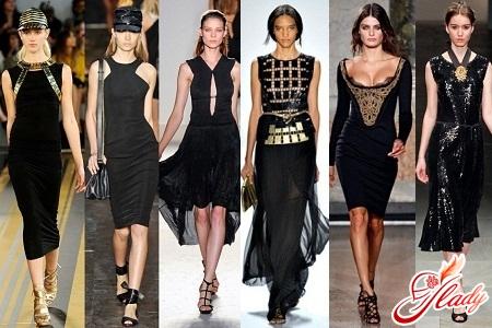how to wear a black dress