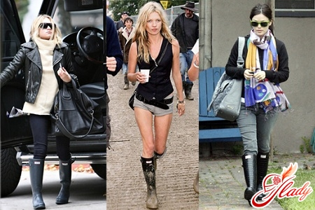 rubber boots with what to wear