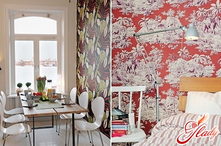 fashionable vinyl wallpaper