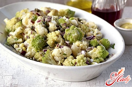 delicious cauliflower salad