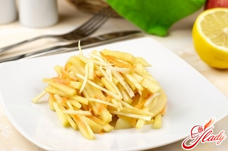 celery salad with apple