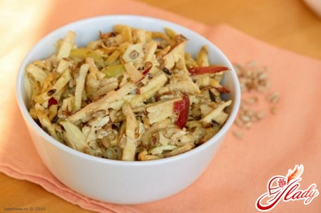 celery and apples salad