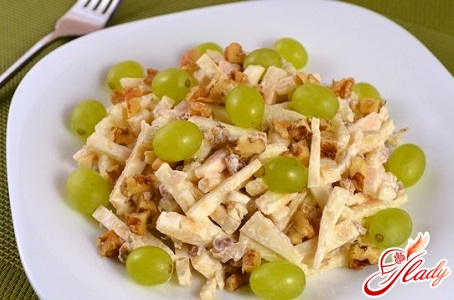 salad of apples and celery
