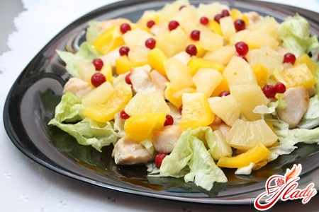 salad recipe with canned pineapple