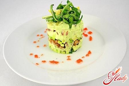 avocado salad cucumber