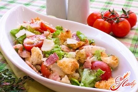 salad with cirri