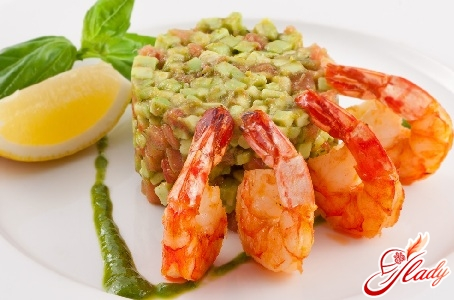 shrimp salad tomatoes