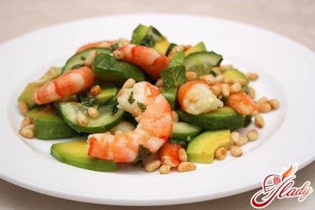 salad with shrimps recipe