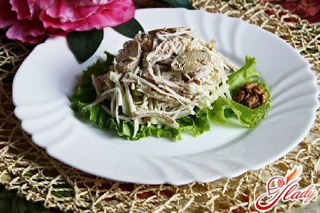 celery salad with chicken