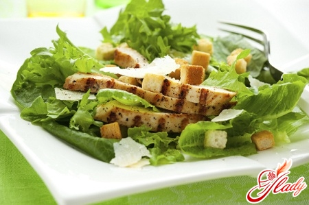 salad with chicken and celery