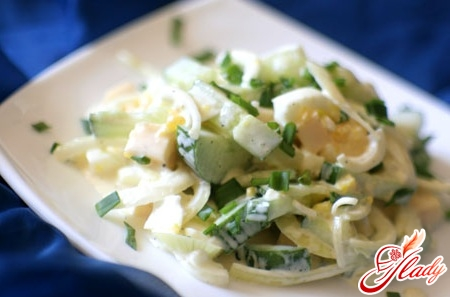 cucumber egg salad