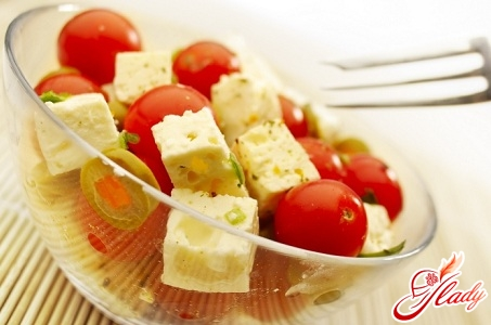 recipe for salad with cherry tomatoes