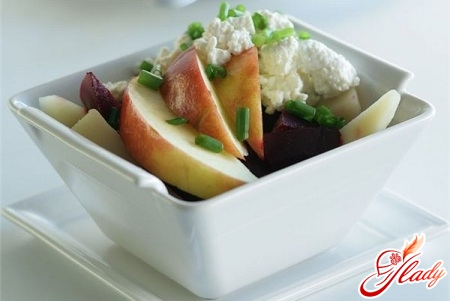 salads with beets