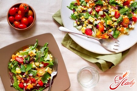 tasty salads without mayonnaise