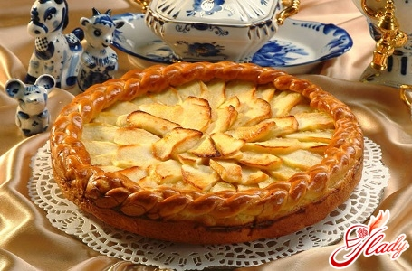 the most delicious pie with apples