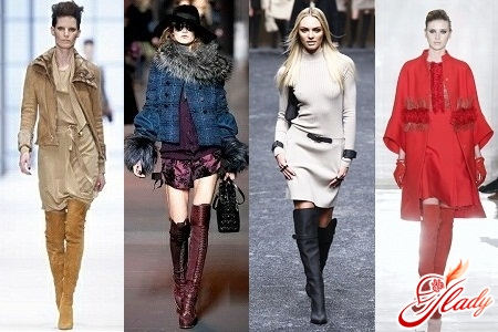 with what to wear high boots in 2012